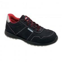 BRANDON S3 scarpa bassa in nabuk nera