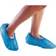 Copriscarpe DELTA PLUS Sovra scarpe visitatore in polietilene 25 μm blu 50 paia - SURCHPE