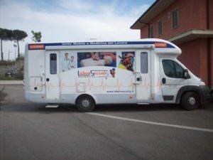 ambulatorio mobile per visite presso sede del medico competente
