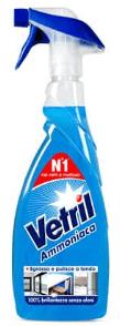 detergente multisuperficie Vetril con ammoniaca