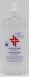gel igienizzante mani 500 ml - bosco di rivalta