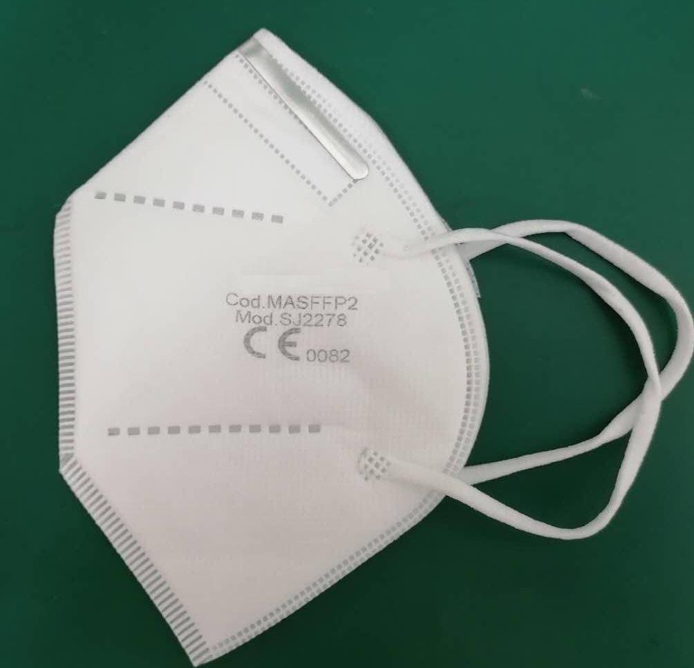 Mascherina protettiva FFP2 - colore bianco
